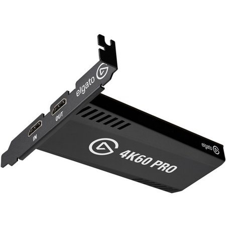 Corsair Elegato Game Capture 4K60 Pro MK.2 Game Capturing Device - Functions: Video Game Capturing - PCI Express x4 - H.264, AVC, H.265 - PC - Plug-in Card Security Video Capture Card