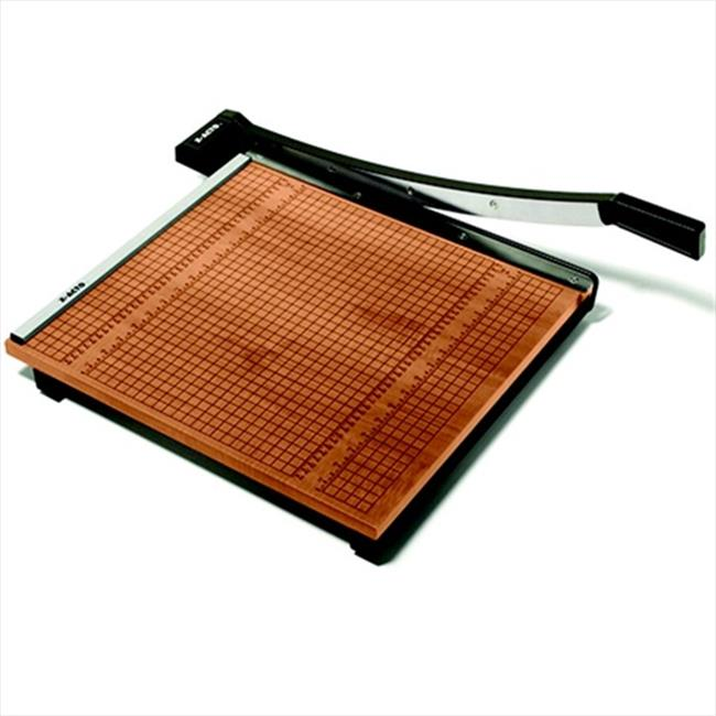 X-ACTO 082204 Medium Duty Self-Sharpening Steel Wood Base Paper Trimmer - 15 Sheet, 15 x 15 In. Cut