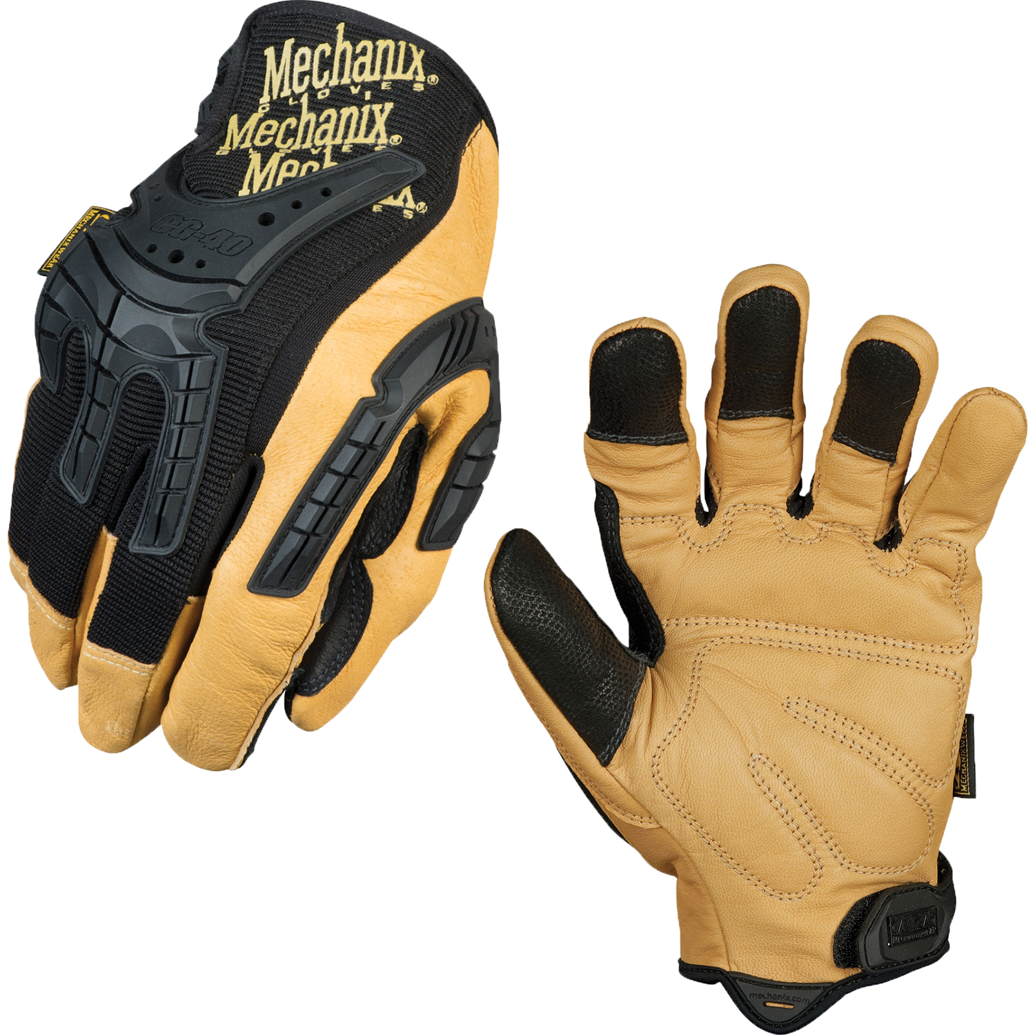 Mechanix Gloves Mpact-3 Black Color Size Medium
