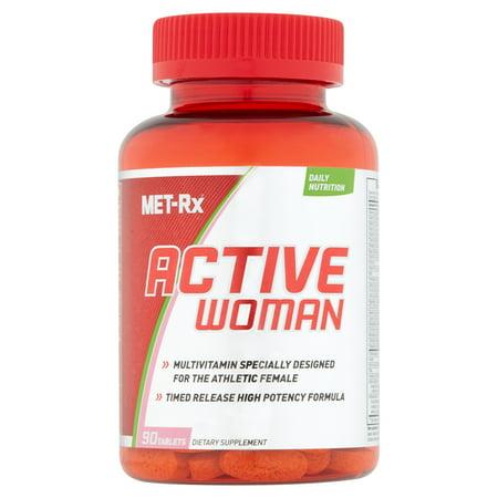 MET-Rx active des femmes multivitamine supplément alimentaire, 90 count