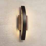 Possini Euro Design Possini Euro Coppered Arch Indoor-Outdoor Led Wall Sconce
