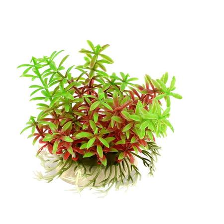 Aquarium Plastic Emulational Landscaping Ornament Water Weed Plant Grass (Fish Tank Ornament)