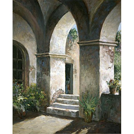 The Monarch Collection TMC-SL-08-24X30 Arches-24X30 Painting