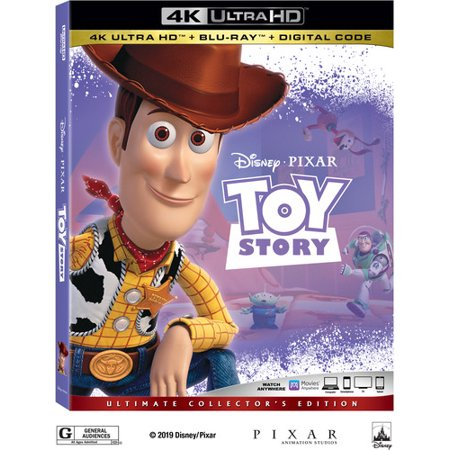 Toy Story (4K Ultra HD + Blu-ray + (Definitive Dvd)