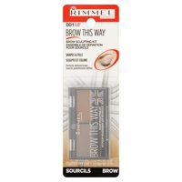 Rimmel Brow This Way Brow Sculpting Kit, Blonde