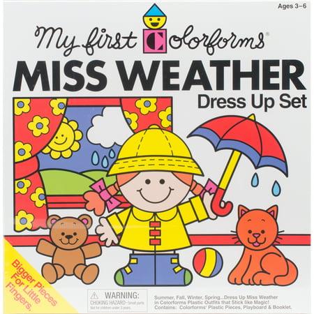 Colorforms(R) Classic Miss Weather Re-Stickable Sticker