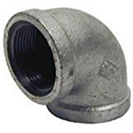 B & K 510-001HN 0.25 in. Galvanized 90 Deg Elbow - image 1 de 1