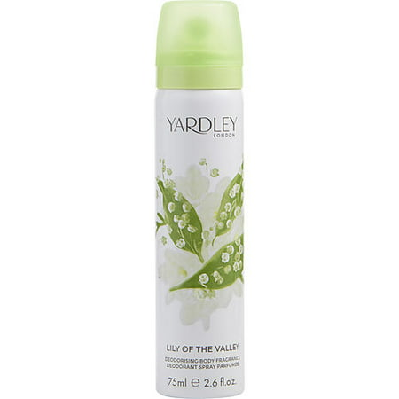 YARDLEY by Yardley - LILY OF THE VALLEY BODY SPRAY 2.6 OZ (NEW PACKAGING) - WOMEN