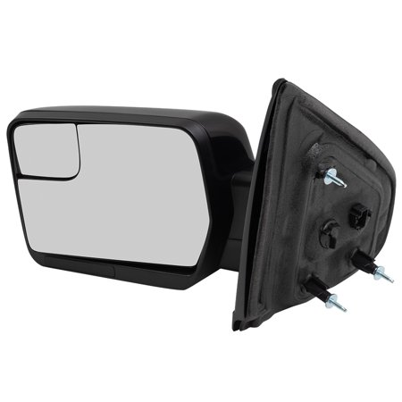 Drivers Power Side View Mirror w/ Spotter Glass Reflector Pedestal Type 11-14 Ford F-150 Pickup Truck (Price Spotter)