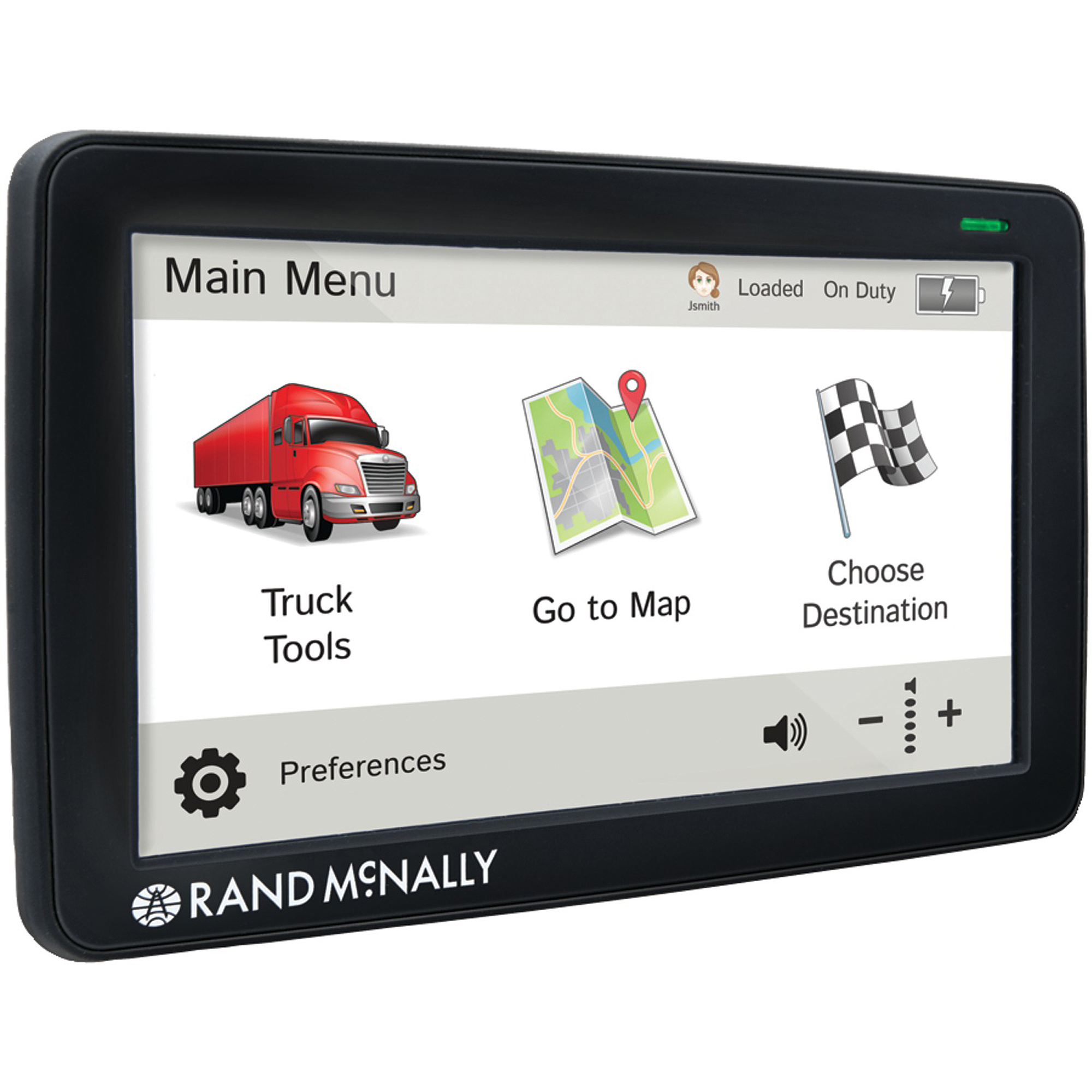 "Rand McNally 0528011715 IntelliRoute 7"" TND 730 GPS Unit by Rand McNally"