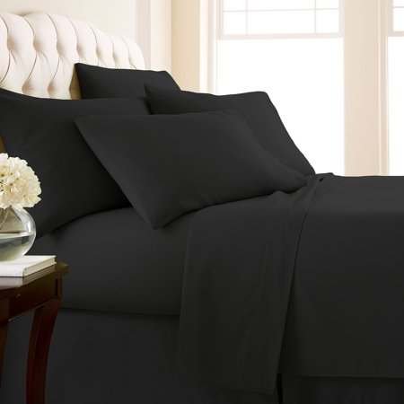 Vilano Springs 6-Piece Extra Deep Pocket Sheet Set by SouthShore Fine Linens Iron Bed Set