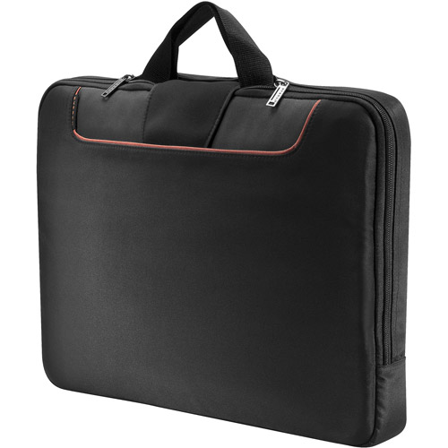"Everki EKF808S18 Everki Commute EKF808S18 Carrying Case (Sleeve) for 18.4"" Notebook - Black - Polyester"