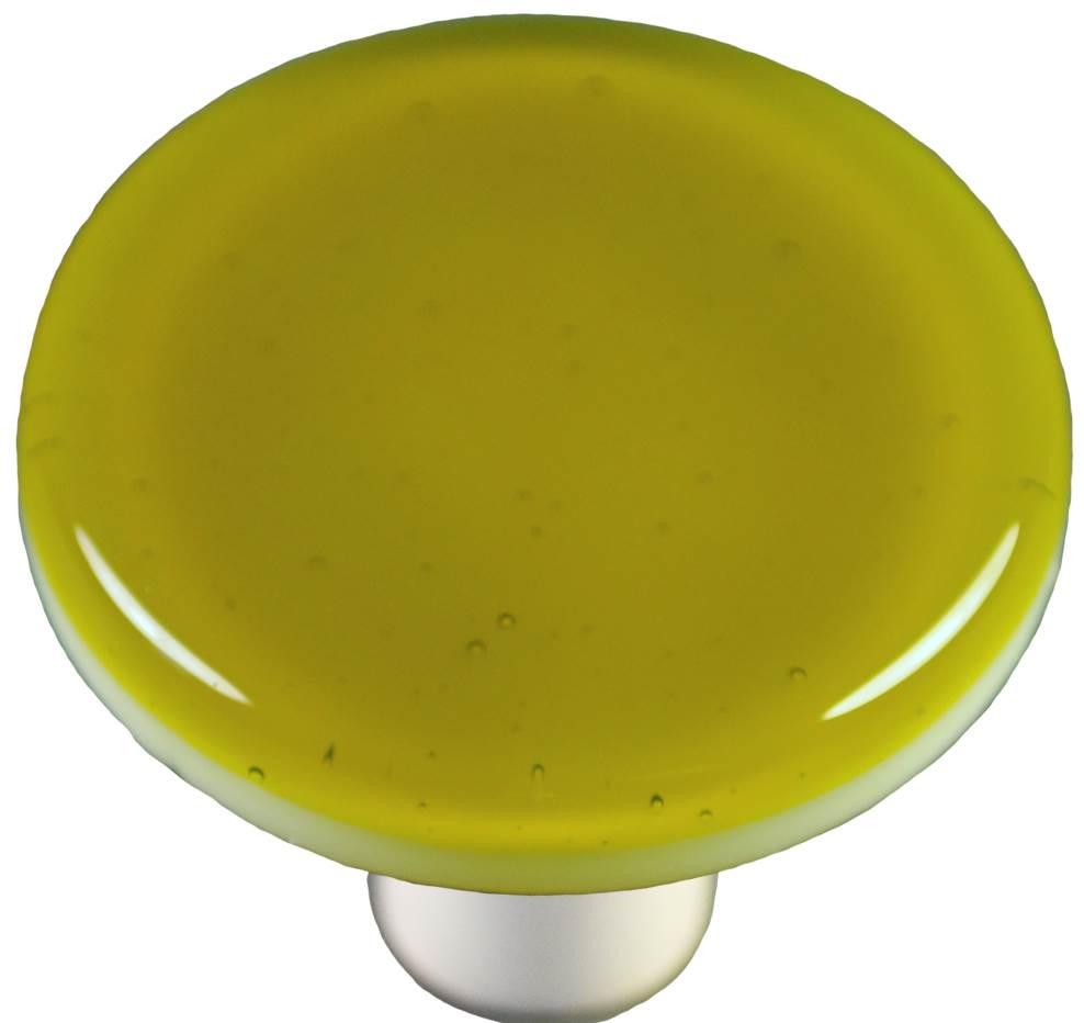 Round Knob in Chartreuse (Aluminum)