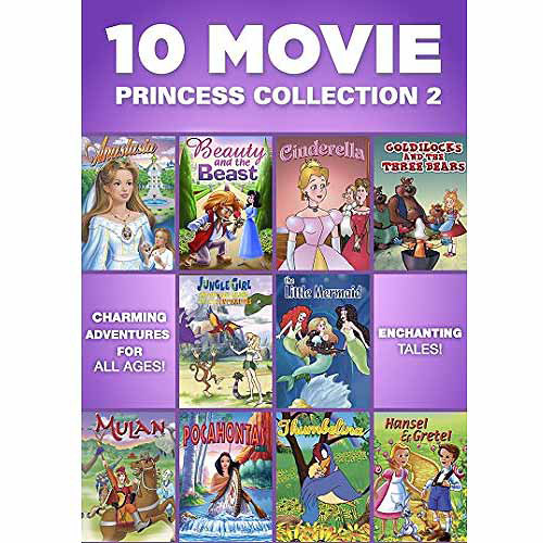 10 Movie Princess Collection 2 (Full Frame)