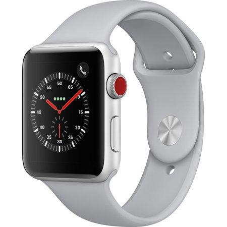 Watch Series 3 42mm Silver Aluminum - Fog Sport Band GPS + Cellular MQK12LL/A Аpplе ()