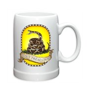 Erazor Bits Don't Tread On Me 20oz Stoneware Coffee, Beverage Mug