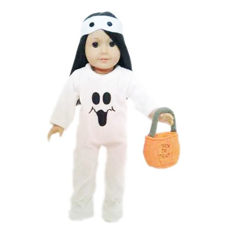 My Brittany's Ghost Costume for American Girl Dolls and My Life as Dolls