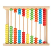 ODOMY Wooden Bead Abacus Counting Frame Childrens Kids Educational Maths Toys