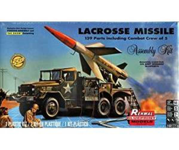 RMX857824 1:32 Revell   Renwal Lacrosse Missile [MODEL BUILD by Revell