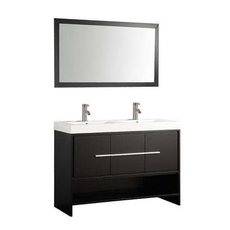 Mtd Vanities Belarus 48 Inch Double Sink Bathroom Vanity Set With
