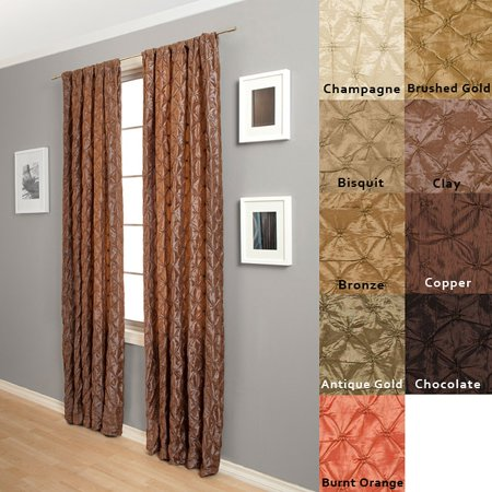 Zanzibar Rod Pocket 108 Inch Curtain Panel