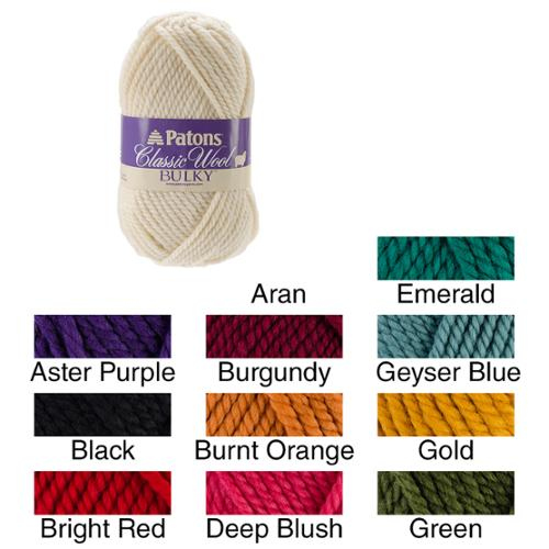 Classic Wool Bulky Yarn Aster Purple