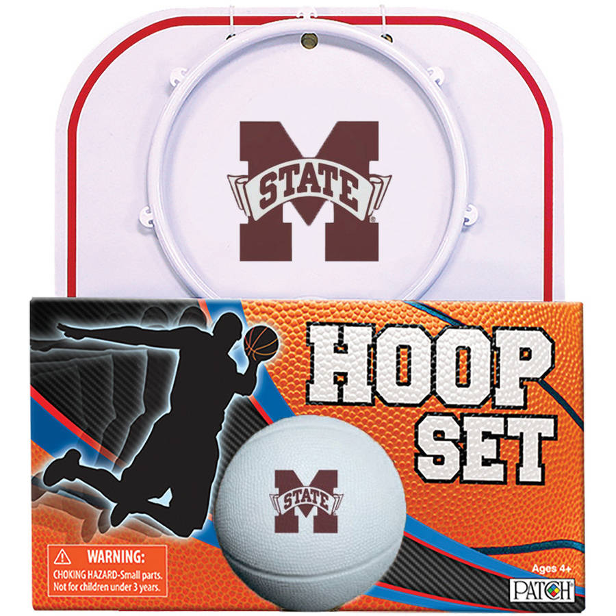Officially Licensed NCAA Mississippi State Hoop Set