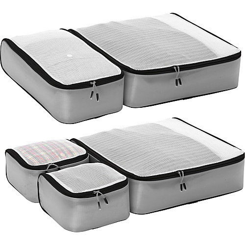 eBags Ultralight Packing Cubes - Super Packer 5pc Set
