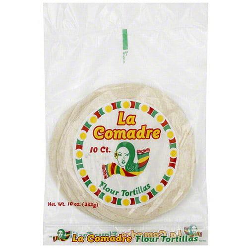 La Comadre Flour Tortillas, 10ct (Pack of 12)