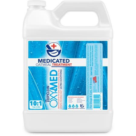 TropiClean OxyMed Medicated Oatmeal Treatment, 1 Gal