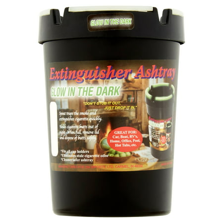 Glow in the Dark Extinguisher (Operated Ashtray)