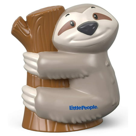 Fisher-Price Little People Sloth, Includes 1 sloth figure By FisherPrice (Fisher Price Little People Marvel)