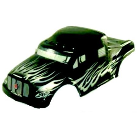 Redcat Racing 88035 0 1 Semi Truck Body Black And Silver - Redcat RC Racing  Vehicle Parts