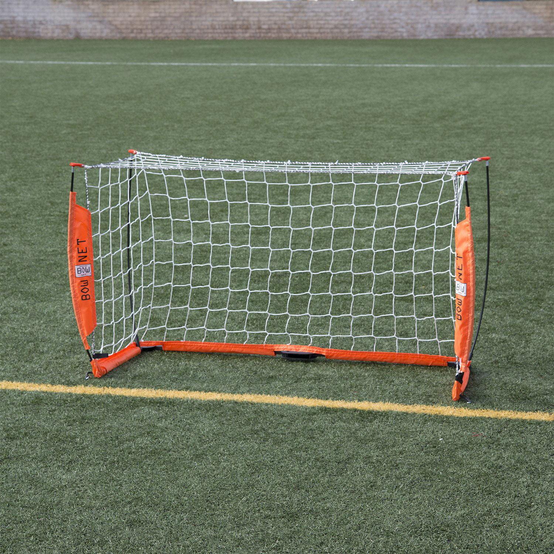 2af7c83e6 Bownet 3 Foot x 5 Foot Portable Youth Training Practice Soccer Goal, Orange  - Walmart.com