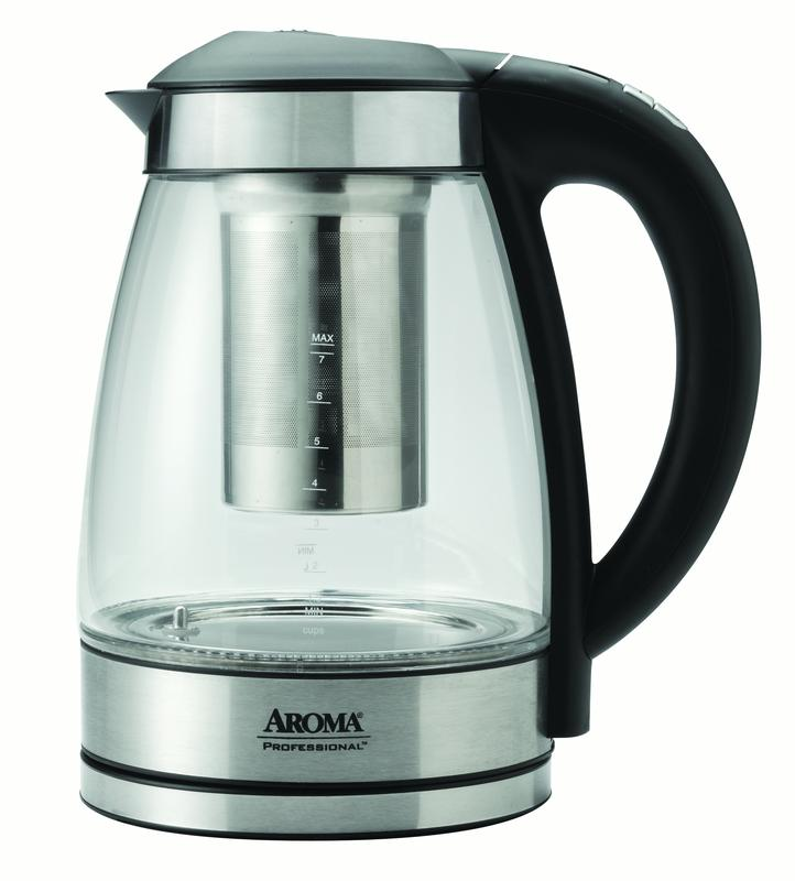AROMA Professional 1.7 L   7-cup Digital Electric Water Kettle (AWK-165DI) by Aroma