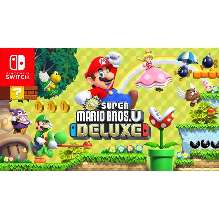 New Super Mario Bros U Deluxe, Nintendo, Nintendo Switch, 045496592714 (Digital Download) New Super Mario Bros Ds
