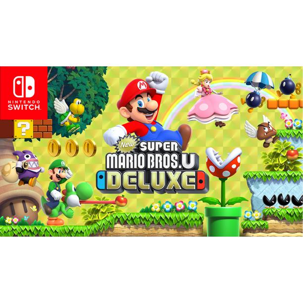 New Super Mario Bros U Deluxe Nintendo Nintendo Switch
