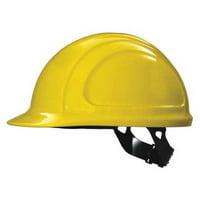 HONEYWELL NORTH Hard Hat,4 pt. Pinlock,Ylw N10020000