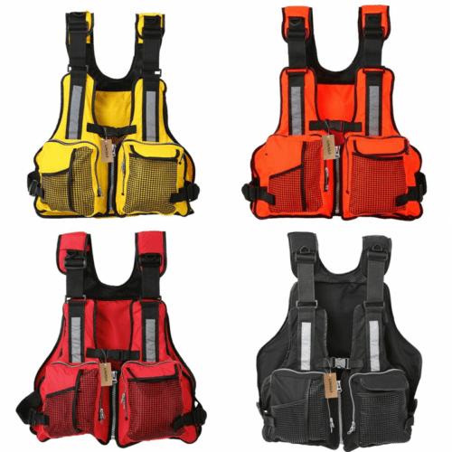 Adjustable Buoyancy Aid Sailing Swimming Fishing Boating Kayak Life Jacket child