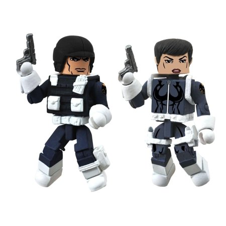 Marvel Minimates W51 Action Figure 2-Pack: Maria Hill/SHIELD Agent for $<!---->