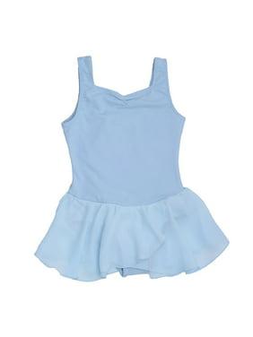 e771880050115 Product Image Danshuz Lt. Blue Sweetheart Neckline Georgette Skirt Dance  Dress Girls 8-10