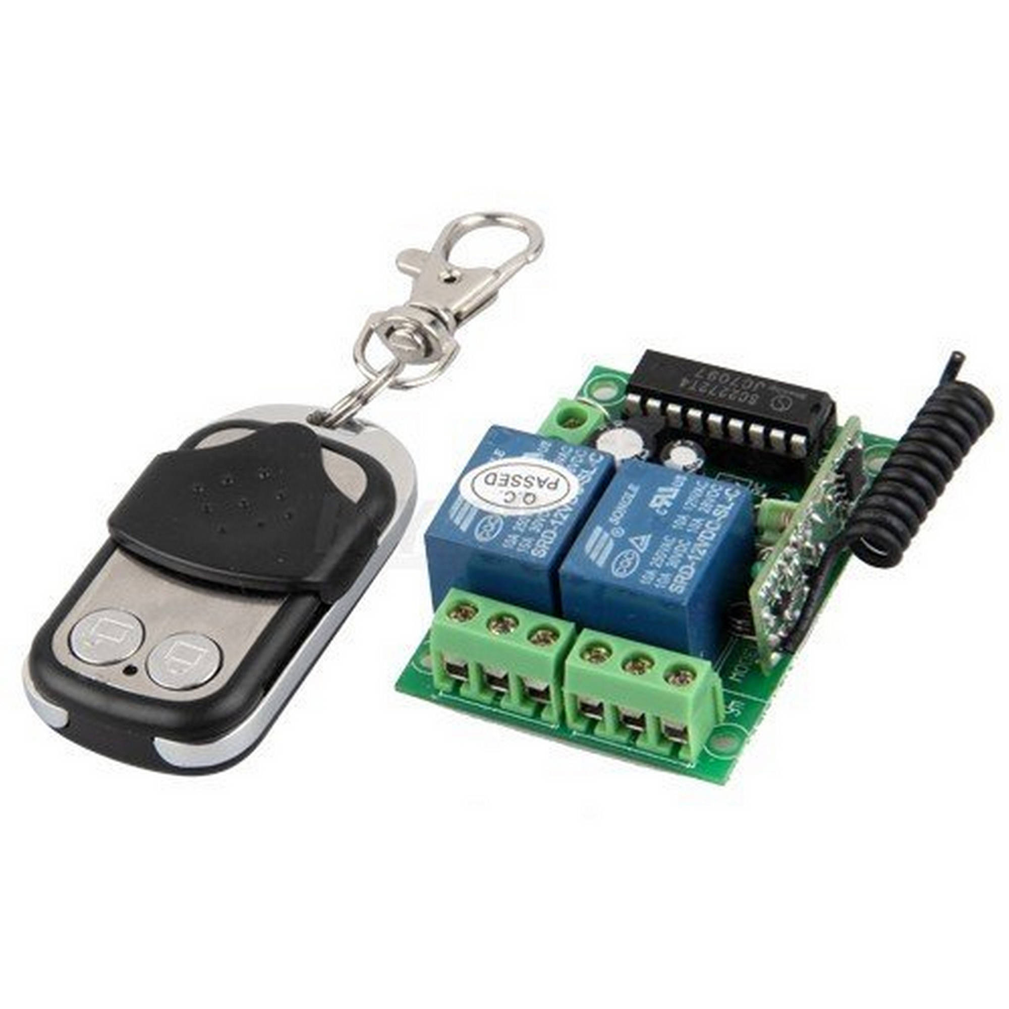 Aleko Remote Control Transmitter for Universal Gate Garage Door Opener Syk01