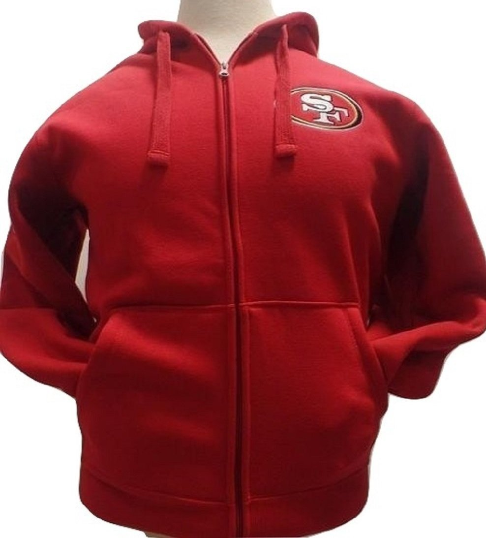 San Francisco 49ers Sherpa Fleece Full-zip Jacket by