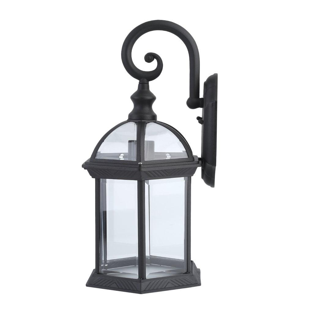 Porch Light Walmart: Outdoor Lantern Vintage Light Fixture Porch Patio Lantern
