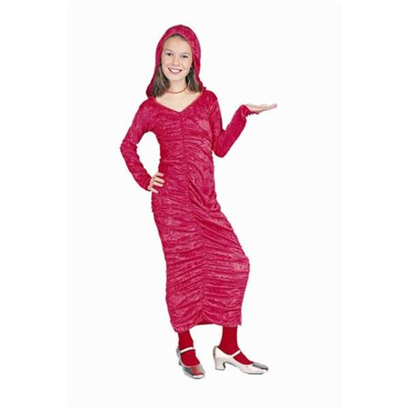 Red Riding Hood Dress Up (Red Gothic Dress With Hood Costume - Size)