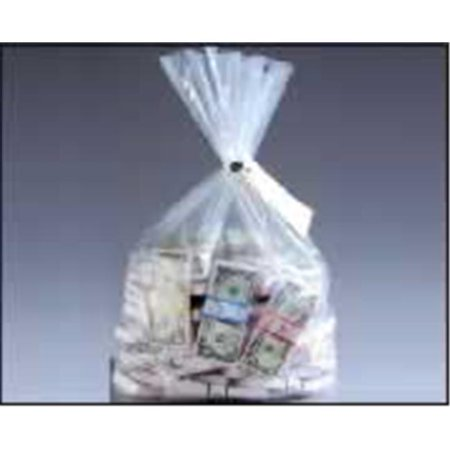 MMF 206410720 Currency Deposit Bags-19X36-Clear- box of 100