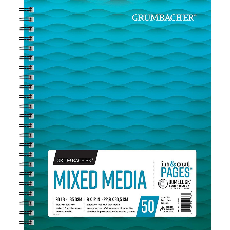 "Grumbacher Mixed Media Paper 9"" x 12"""