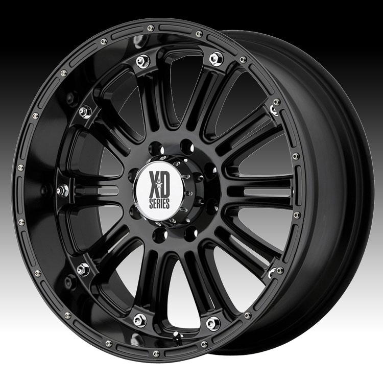 KMC XD XD795 Hoss Gloss Black 17x9 6x135 -12mm (XD79579063312N)