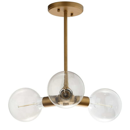 Safavieh Harkin 3 Light 18 in. Dia. Adjustable Pendant
