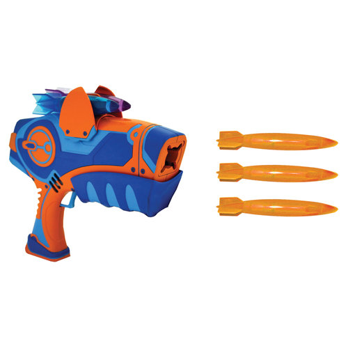 Swim Ways Toypedo Blast Underwater Pool Toy Torpedo Launch by Swimways